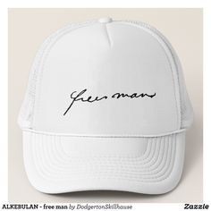 ALKEBULAN - free man Trucker Hat - Urban Hunter Fisher Farmer Redneck Hats By Talented Fashion And Graphic Designers - #hats #truckerhat #mensfashion #apparel #shopping #bargain #sale #outfit #stylish #cool #graphicdesign #trendy #fashion #design #fashiondesign #designer #fashiondesigner #style