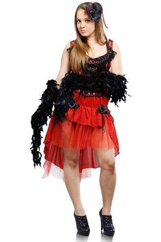 Танцівниця кабаре в червоному   Cabaret dancer in red #burlesque #cabaret #Cabaretdancerinred
