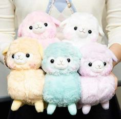 Sherbert Kids Alpacasso Plushies from Tokyo Otaku Mode Kiss Goodnight, Best Hug, Ice King, Tokyo Otaku Mode, Mode Shop, Baby Alpaca, Kawaii Cute, Plushies, My Little Pony