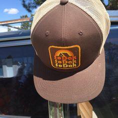 Trucker Hat South Dakota SoDak Retro Cap by Oh Geez! Design