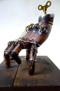 #automate #steampunk #robot #hand