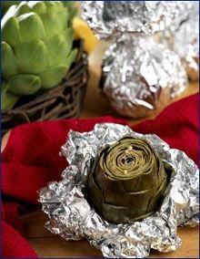 Easy Baked Artichokes - from Ocean Mist Farms recipes