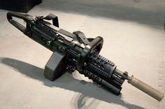 M249 mod chainsaw grip
