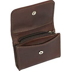 Genuine Leather Coin/Credit Card Purse