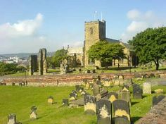 St. Marys Church, Scarborough, where Anne Bronte is buried.
