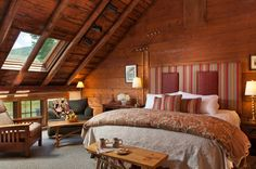 From NPR - Innkeepers are combating old stereotypes about bed and breakfasts. The Richardson Room at the Round Barn Farm in Waitsfield, Vt., was renovated this year to reflect more more modern tastes.