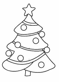 Pintar per pintar Sapin de Noel - impressió de dibuix