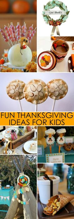 Fun #Thanksgiving Ideas for Kids