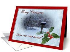 New HOme Christmas Cards | Holidays - Christmas Card Ideas, Photos ...