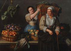 Луиза Моиллон ~ Рыночный прилавок ок.1630