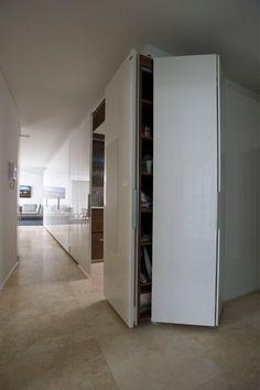 Risultati immagini per concealed kitchen