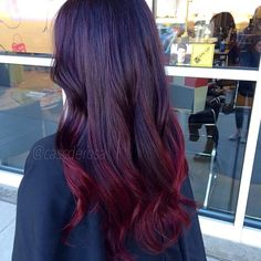 #ombre #red #redombre