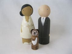 insanely cute customizable cake toppers