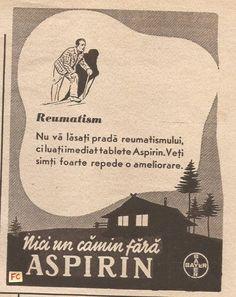 Aspirin for Rheuma Advertising, Bucharest, History, Cover, Books, Movie Posters, Vintage, Romania, Shelf