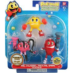 Pacman and the Ghostly Adventures PAC Cylindria and Pac's Pal Spiral [Collector's Set]