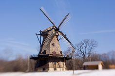 The windmills in Batavia