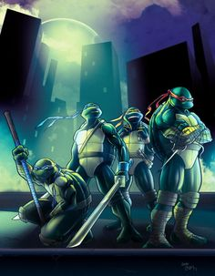 TMNT  by Smallesthing  Pencils by Noide
