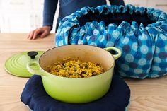 Wonderbag recipes: Curried Rice, Gingered Sweet Potatoes