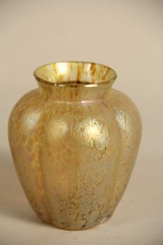 Art Glass Loetz Style Vase