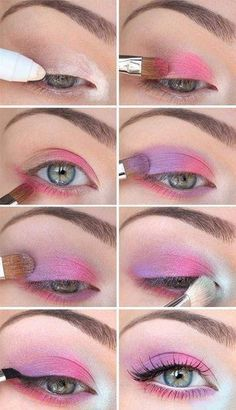 9 Beautiful Shades of Pink Eye Makeup for Wedding Eyes are a beautiful & attractive part of a woman's body. Here are the 9 best Pink Eye Makeup for bridals. Wedding Eye Makeup, Pink Eye Makeup, Makeup Eyeshadow, Makeup Brushes, Party Makeup, Glitter Makeup, Makeup Trends, Makeup Ideas, Makeup Tips