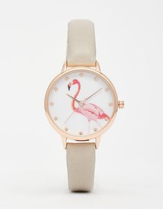 Image 1 of New Look Flamingo Watch