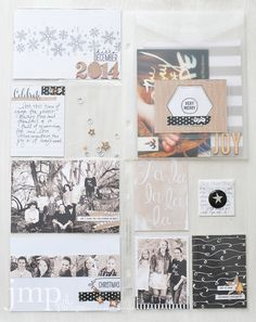 hello december ~ stampin up project life