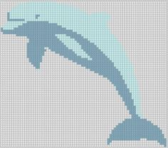 Dolphin 4 Cross Stitch Pattern pattern on Craftsy.com