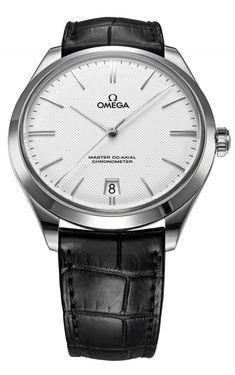 Omega the De Ville Trésor White gold on leather strap 432.53.40.21.02.004