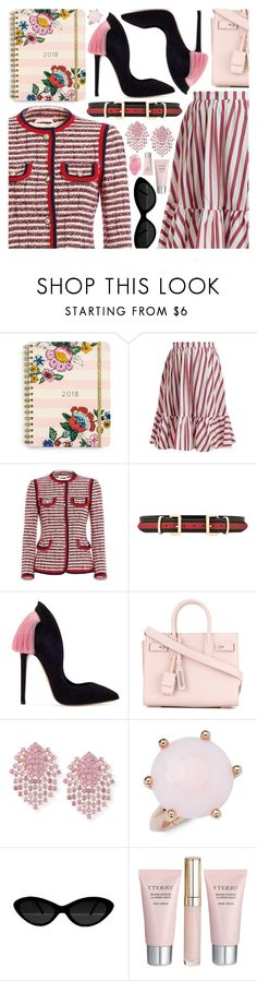 """Eclectic"" by pastelneon ❤ liked on Polyvore featuring Vera Bradley, MSGM, Gucci, B-Low the Belt, Yves Saint Laurent, Alexander Laut, Ippolita, By Terry and SoapRocks"