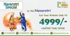 Enjoy the best Navratri & Diwali Offer on SEO, SMO and Web Designing, digital marketing services of the industry and take your Business to the next level.