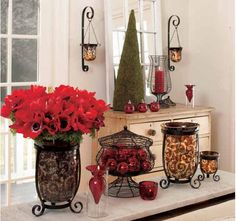 PartyLite home decor and candles