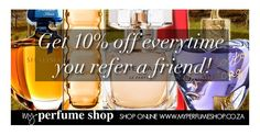 My Perfume Shop Referral Savings Discount Perfume, Dandy, Fragrances, Make Up, My Love, Stylish, Winter, Stuff To Buy, Shopping