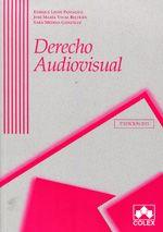 Derecho audiovisual / Enrique Linde Paniagua, José María Vidal Beltrán, Sara Medina González. -- 5ª ed.
