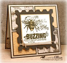Rocky Mountain Paper Crafts: Buzz and Bumble Card Tags, I Card, Bee Wings, Bee Cards, Heart Cards, Close To My Heart, Paper Cards, Your Cards, Cardmaking
