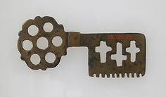 Roman Key, 1st - 7th century