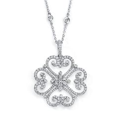 BEST NECKLACE DESIGN    Under $2,500    Diamond and 18k gold necklace with interchangeable pendant; $2,470; Hidalgo