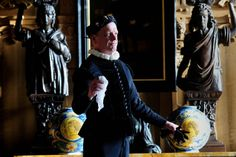 400 years since the death of Lord Darnley, Temple Newsam house, Leeds, is organising murder mystery days to solve the historic murder.Robert Lee is dressed as Lord Darnley..1st February 2017 ..Picture by Simon Hulme