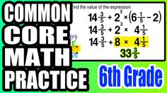 ✪ Practice with Order of Operations | 6th Grade Common Core Math