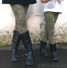 Tutorial: How to sew your own leggings by cucicucicoo
