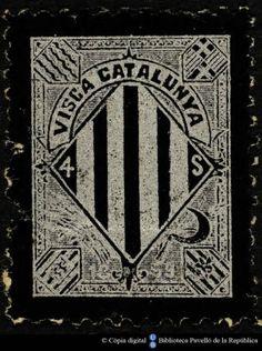 Temes-Visca Catalunya :: Segells del Pavelló de la República (Universitat de Barcelona) Symbols, Peace, Art, Art Background, Kunst, Performing Arts, Sobriety, Glyphs, World
