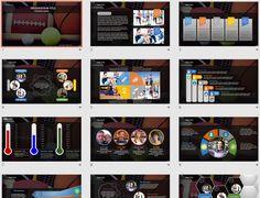 Sports Equipment PowerPoint by SageFox