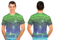 Get this Dunes in Green premium all over print tee by minx267 @OArtTee