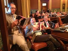 Michigan GOP Proves Its Understanding Of Women By Posing With Fashion Magazines