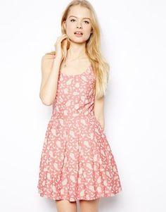 Image 1 ofJack Wills Paisley Sleeveless Dress