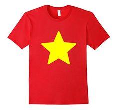 Men's Vietnam Shirt - Vietnam Yellow Star -   Steven Universe Star Shirt