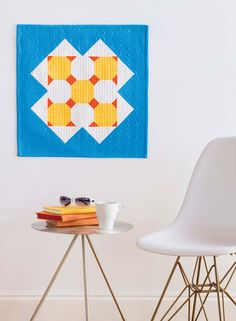 """Make your quilts the best they can be with these 10 simple steps for better quilts >> """"Sunny Day Wall Quilt"""" by Catherine Redford"""