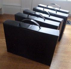 briefcase tutorial for spy birthday party theme