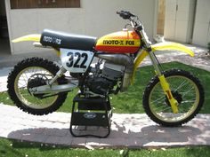 Mark Barnett RM 250 moto x fox bike 001