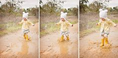 children's photography and puddles!