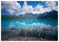 Turquoise Lake, Lake Clark National Park, Alaska.